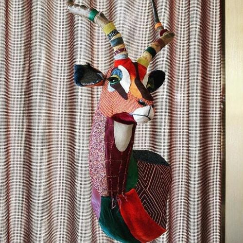 Wall Hangings by Carola Van Dyke Studio seen at Knoll Los Angeles Showroom, Los Angeles - Impala