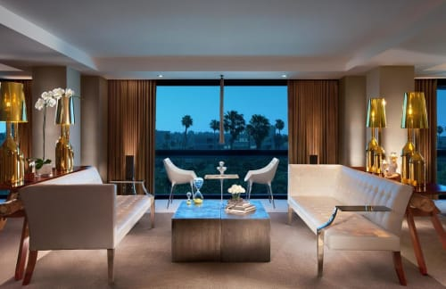 Couches & Sofas by Driade seen at SLS Hotel, a Luxury Collection Hotel, Beverly Hills, Los Angeles - Monsiegneur Sofa
