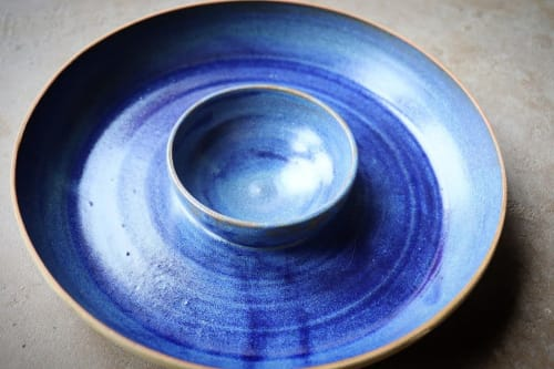 Ocean Blue | Ceramic Plates by Ceramics by Charlotte