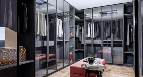Interior Design by Studio Hiyaku seen at Private Residence, Carlingford - Residential Closet Design