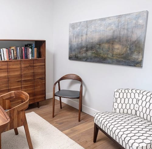 Paintings by Donna Giraud seen at Private Residence, Vancouver - Zealan