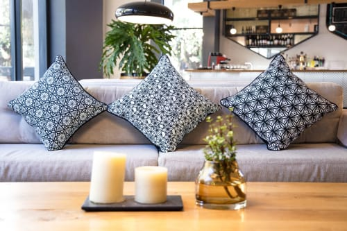 Pillows by PRIMROSE CHARMZ seen at Private Residence, Cape Town - Lotus | 27 Collection