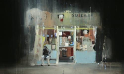 Brett Amory - Street Murals and Public Art