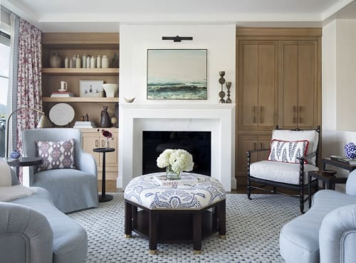 Interior Design by Julie Rootes Interiors seen at Private Residence, Belvedere - Interior Design
