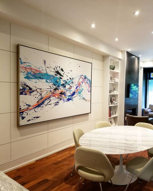 Paintings by Peter Triantos seen at Private Residence, Toronto - SP2#20