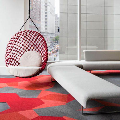 Chairs by Kenneth Cobonpue at Shaw Contract, New York - Dragnet Swing