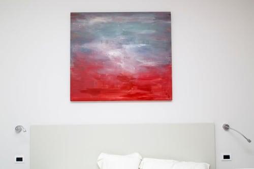 Paintings by Francesco Correggia seen at Art Hotel Gran Paradiso, Sorrento - Imaginatio Painting