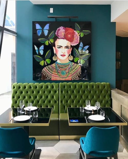 paintings and interior design by ashley longshore wescover