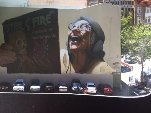 BiP - Street Murals and Murals