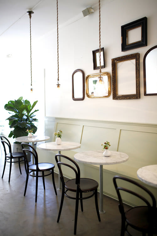 Interior Design by Katie Hackworth at Jujubeet Cafe, Bellevue - Interior Design