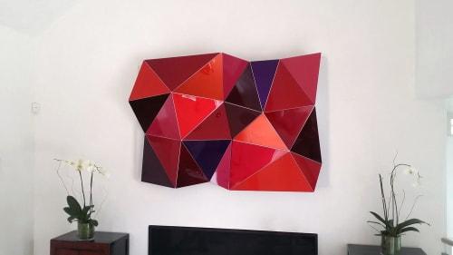 Sculptures by Christian Eckart seen at Private Residence, Aspen - Hexagonal Pertubation Hard Candy