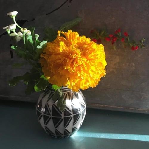 Vases & Vessels by Dana Bechert seen at Dylan's Oyster Cellar, Baltimore - Ceramic Flower Vase