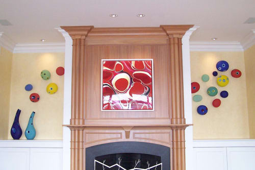 Art & Wall Decor by Jamie Harris Studio seen at Richmond, VA, Richmond - Residential Mod Installation, 2006