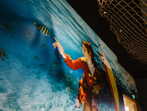 Photography by Elena Kalis seen at FISH by Jose Andres, Oxon Hill - Pikaboo