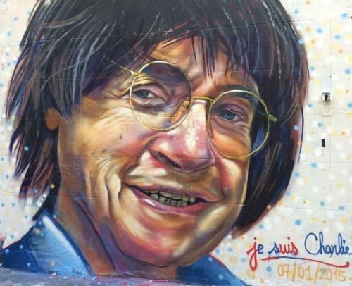 Street Murals by OCM Vibration - Mr Cabu Mural