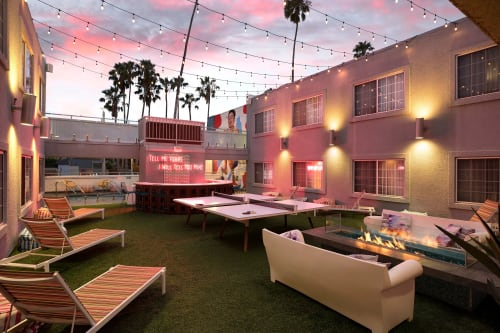 The Kinney Venice Beach, Hotels, Interior Design