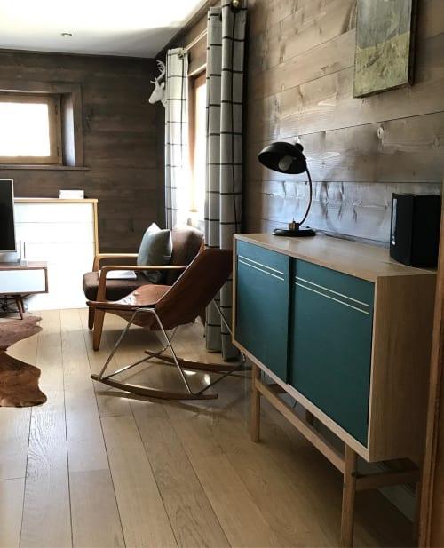 Furniture by King & Webbon at Hideout Hostel, Morzine - Sideboard