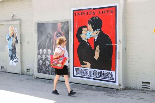 Street Murals by Voxx Romana seen at Los Angeles, CA, Los Angeles - Tainted Love
