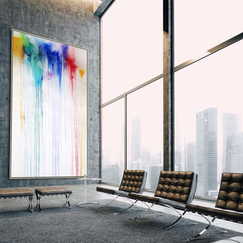 Paintings by Peter Triantos seen at Toronto, Toronto - Splash of Colour #28