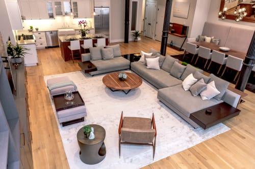 Interior Design by Marie Burgos Design at NY Bachelor Pad, New York - Interior Design