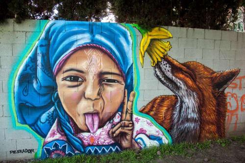 Pancho Pescador - Street Murals and Public Art