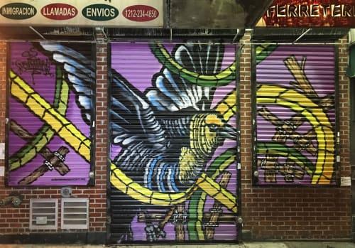 Hagar Fletcher - Street Murals and Public Art