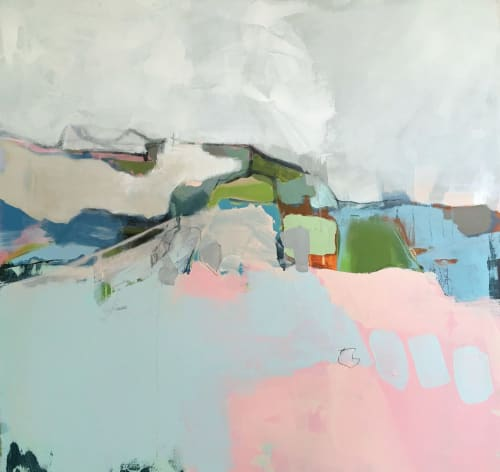 Paintings by Mary Elizabeth Peterson seen at Private Residence, Baton Rouge - Abstract Painting
