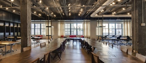 Tables by Martino Gamper seen at Spring Place, New York - Custom Worktable