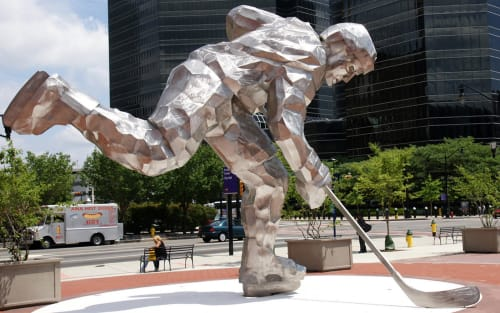 Jon Krawcyzk - Public Sculptures and Public Art