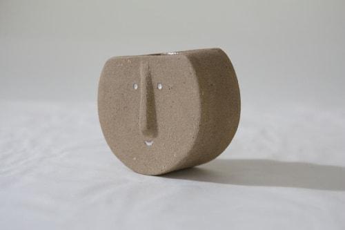 Vases & Vessels by Kristina Kotlier seen at Creator's Studio, Los Angeles - Stoneware Sam Vase