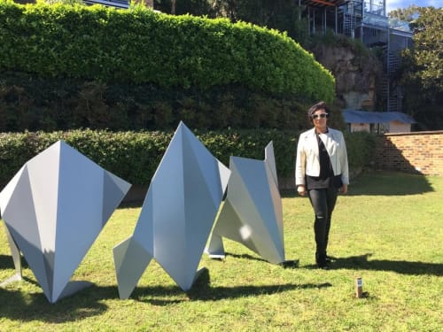 Public Sculptures by Inna Moshkovich seen at Sawmillers Reserve, McMahons Point - Sculpture