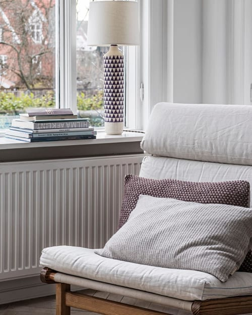Pillows by Aiayu seen at Private Residence, Copenhagen, Denmark, Copenhagen - Heather and Aiayu Fritz Hansen Pillow