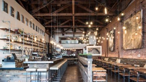 Ca' Momi Osteria, Napa, Restaurants, Interior Design