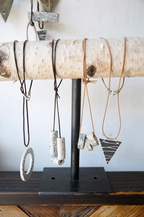 Apparel & Accessories by Mel Rice Ceramica at Microshop, San Francisco - Porcelain Necklace