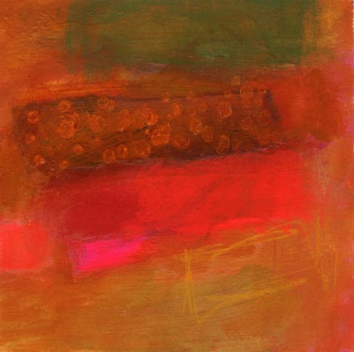 """Paintings by Abby Creek Studios - Paintings by Linda O'Neill seen at Private Residence, Colorado Springs - """"Untitled #7"""""""