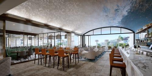 AVEO Table + Bar, Restaurants, Interior Design