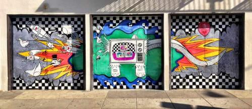 Elliott C Nathan - Art and Street Murals