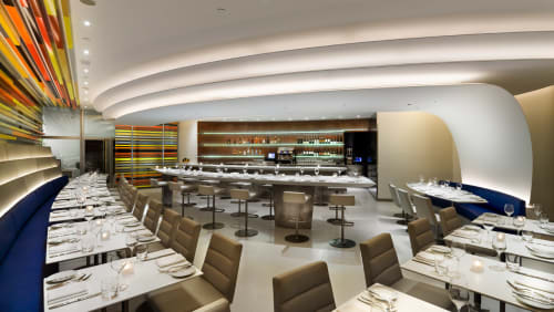The Wright, Restaurants, Interior Design