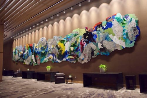 Art & Wall Decor by Katherine Tzu-Lan Mann seen at MGM National Harbor Resort & Casino, Oxon Hill - Forest
