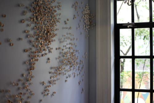 Sculptures by Christina Watka at Norwood, New York - Murmuration II