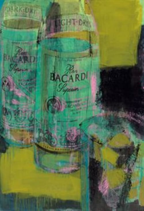 Paintings by Enoc Perez seen at Gramercy Park Hotel, New York - Bacardi Painting