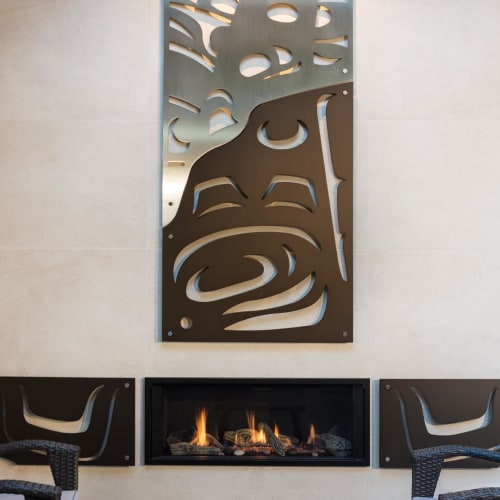 Art & Wall Decor by Sabina Hill seen at Private Residence, Sechelt - Breach