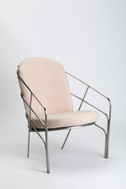 Chairs by LAUN seen at Los Angeles, Los Angeles - DeMille Chair