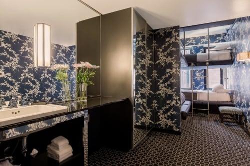 Lighting by Lorenzo Castillo seen at Room Mate Grace Hotel, New York - Bathroom Lights