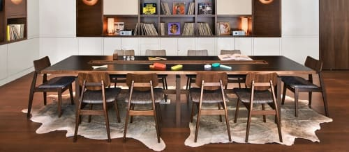 Chairs by Jens Risom seen at Arlo SoHo, New York - C 275 Side Chair