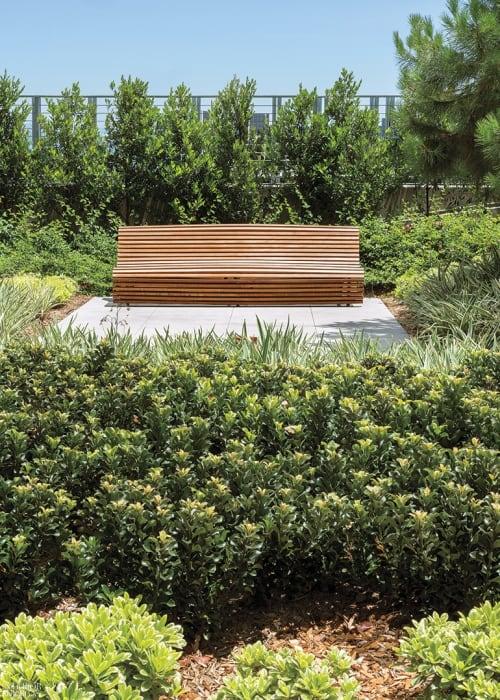 Benches & Ottomans by Naoto Fukasawa seen at Ten Thousand, Los Angeles - Titikaka Bench
