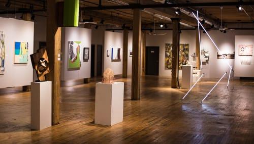The Bridgeport Art Center, Art Galleries, Interior Design