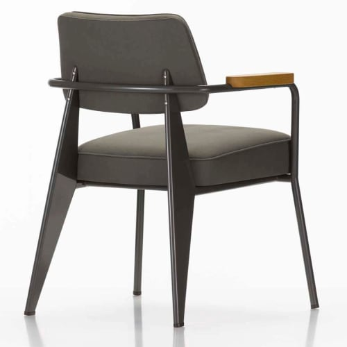 Chairs by Jean Prouvé seen at Sixty Soho, New York - Fauteuil Direction Armchair