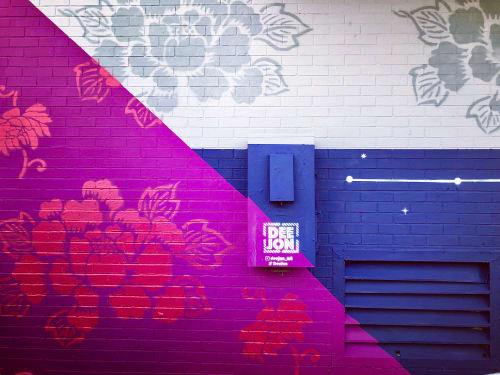 Murals by DeeJon Art seen at Pavement Houston Clothing, Houston - Pavement Clothing Mural