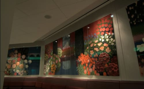Paintings by Mark Adams at San Francisco International Airport, San Francisco - Tapestries to take your breath away